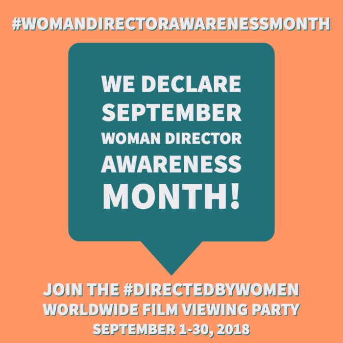 Woman Director Awareness Month 2018