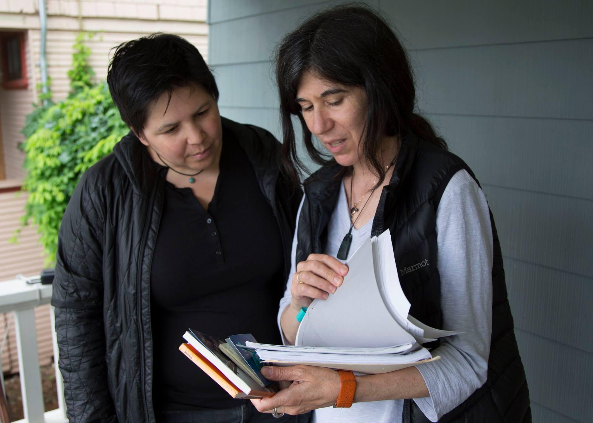 Dawn Jones Redstone and Debra Granik