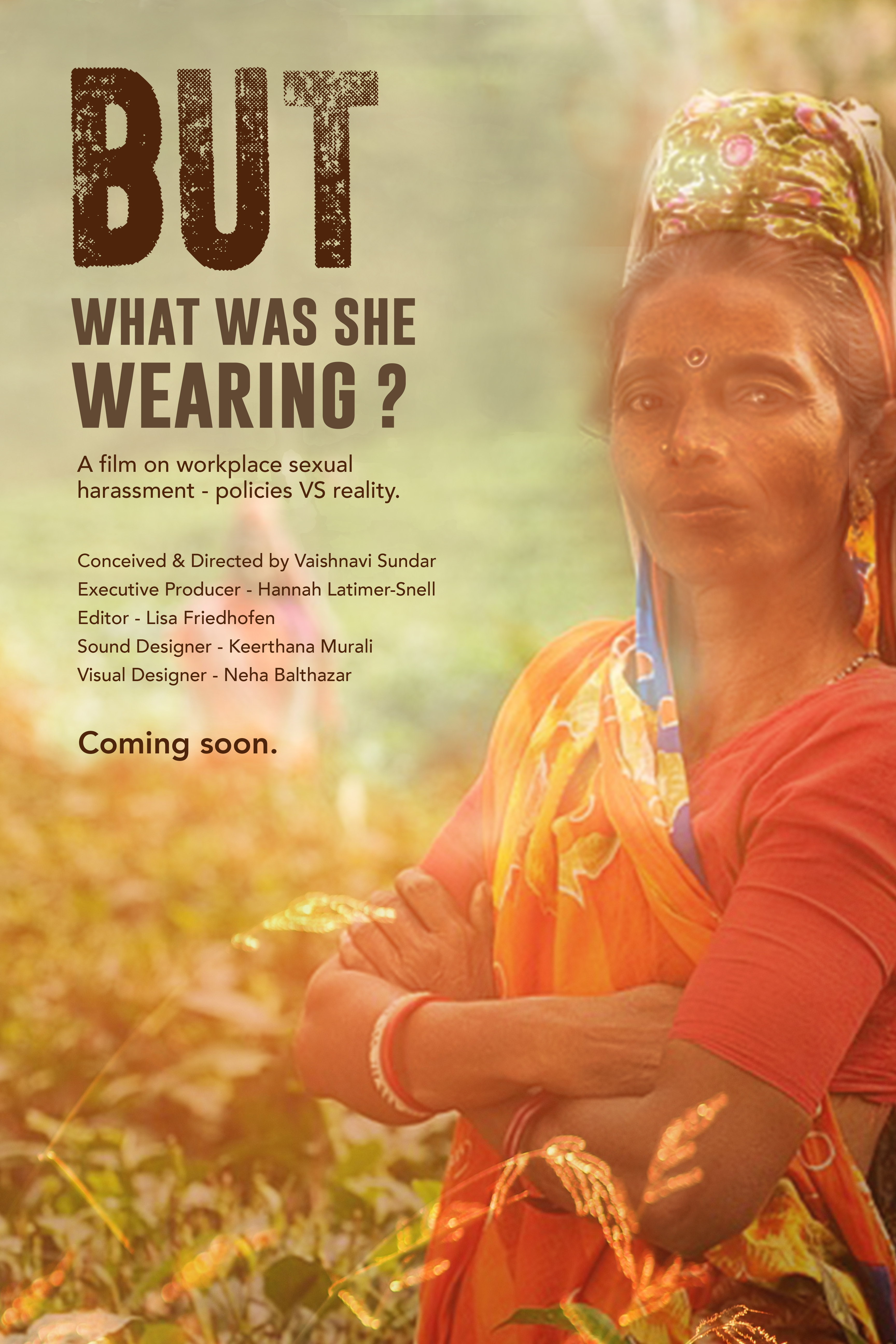 But What Was She Wearing? film poster