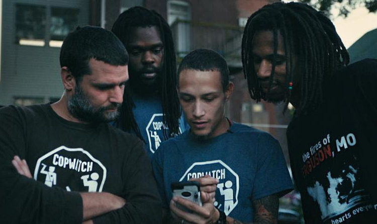 Still image from Copwatch