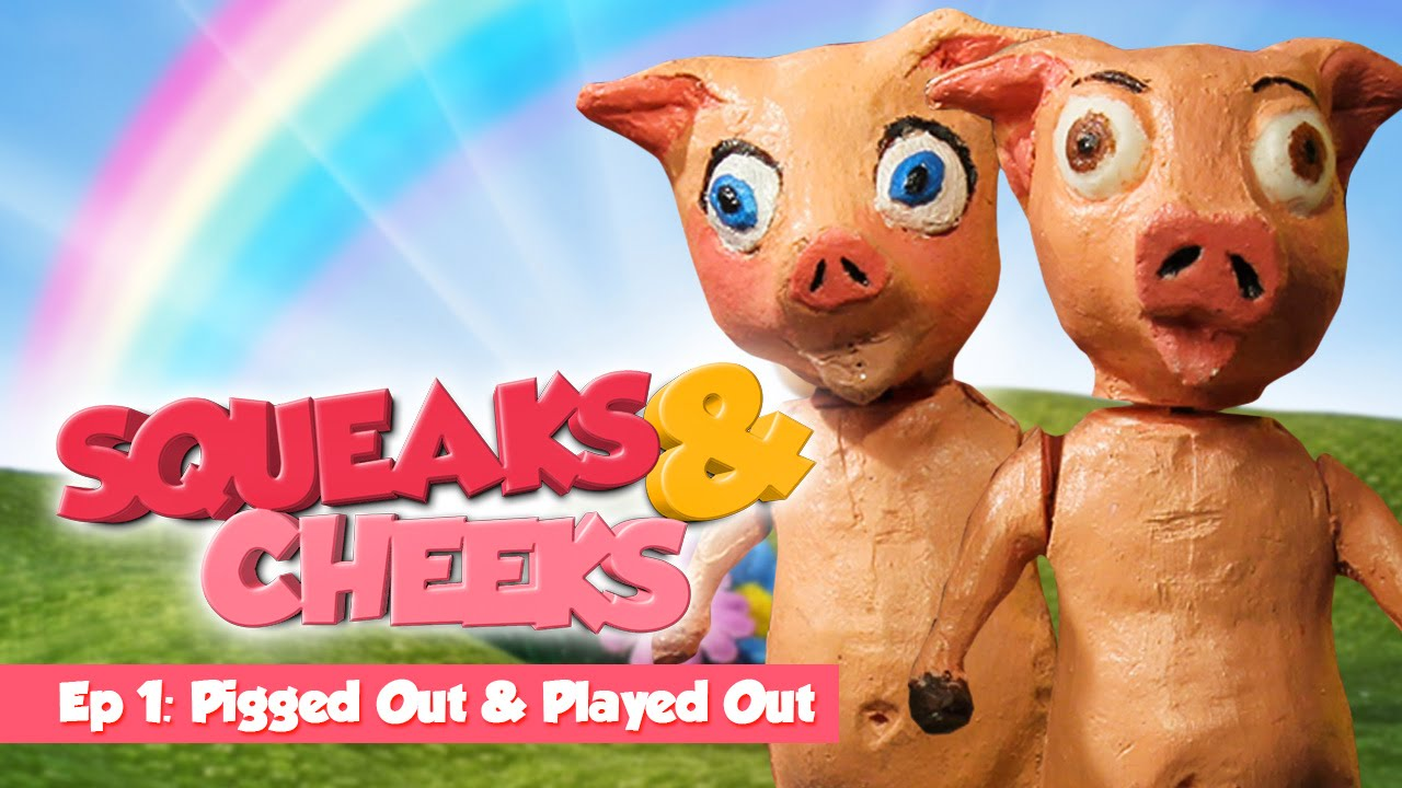 Squeaks & Cheeks - Pigged Out and Played Out