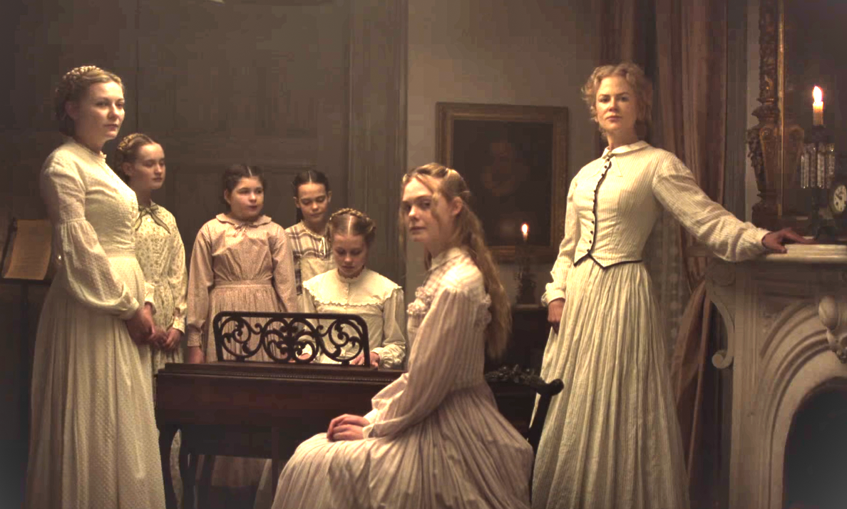 Still image from The Beguiled