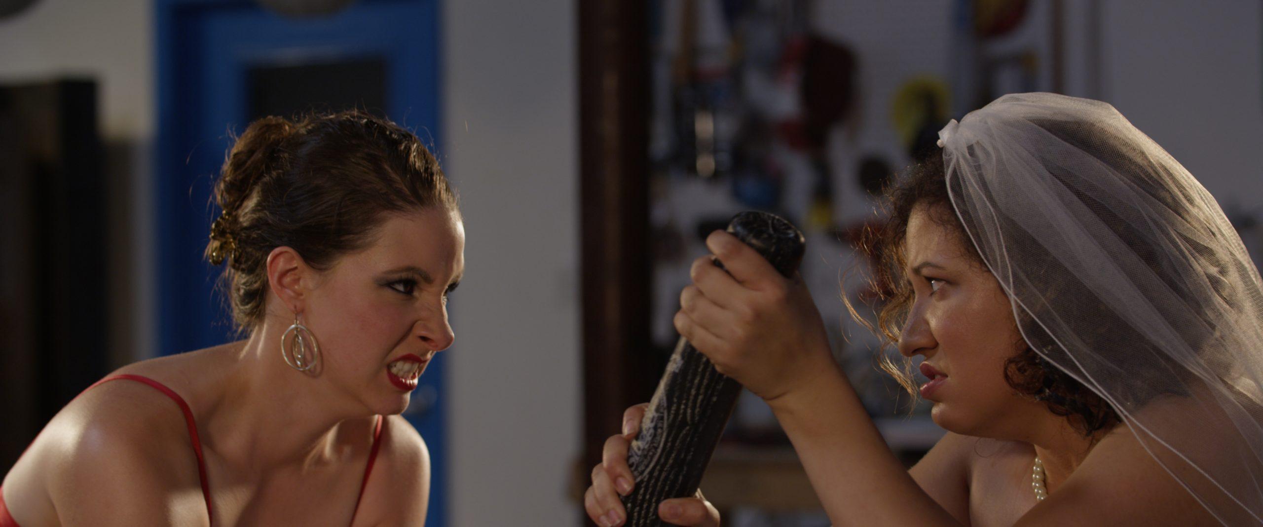 Still photo of Lani (Lexi Balestrieri) and Eve (Yvelisse Cedrez)