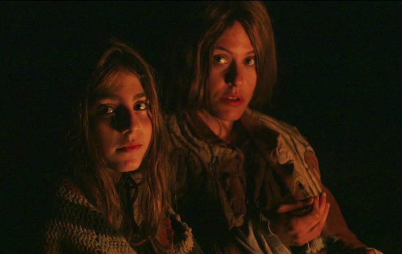 Sophia Mitri Schloss as Lane and Katherine Moennig as Hallelujah in Lane 1974 dir. SJ Chiro, Photo Credit Sebastien Scandiuzzi