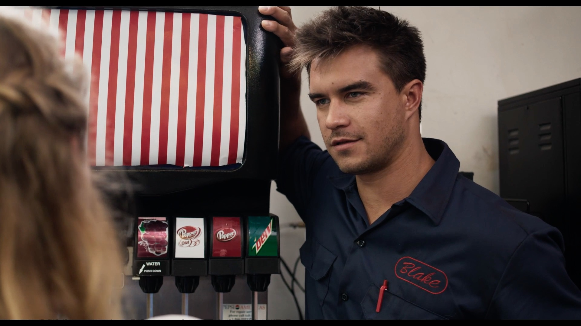 Rob Mayes as Blake in DIfferent Flowers
