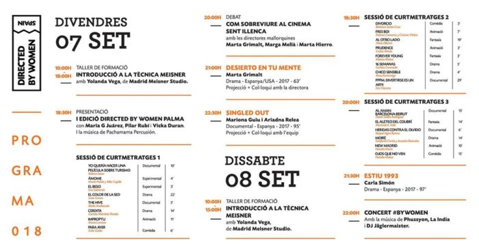 Directed by Women Spain arriba a Palma!