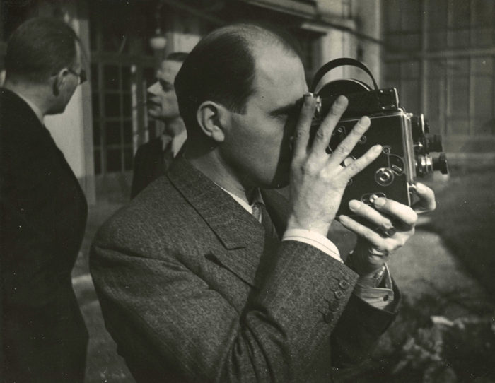 Jacques with Bolex