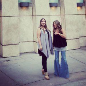 Allison Vanore and Christina Kallas