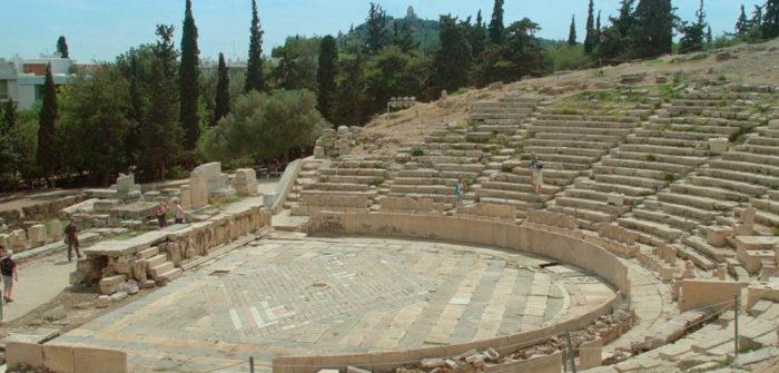 What is Democracy? amphitheatre