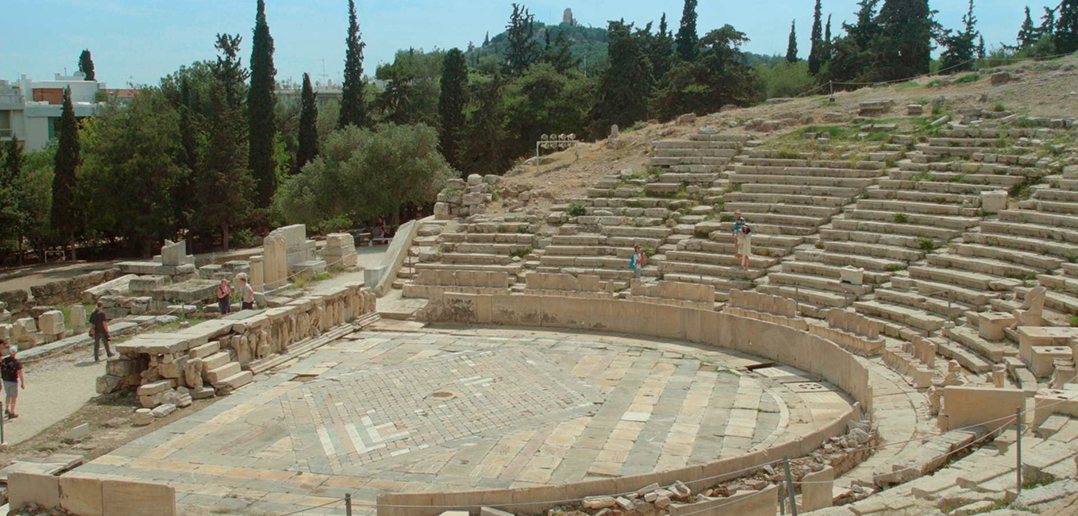 What is Democracy? amphitheatre