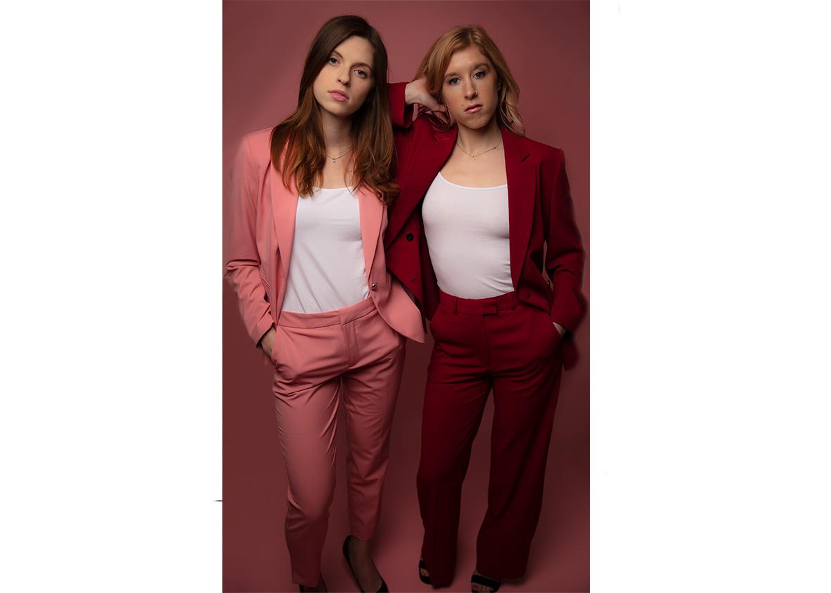 Emma Kreienberg and Nicole Palermo