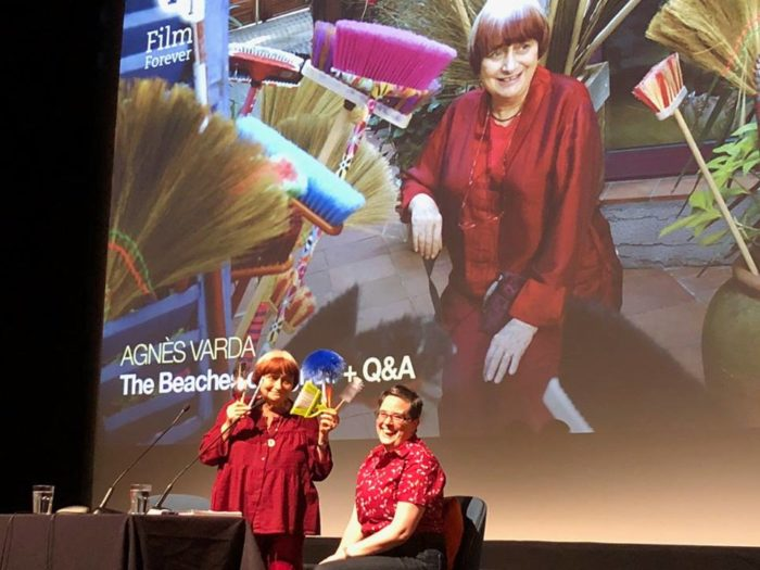 So Mayer and Agnès Varda