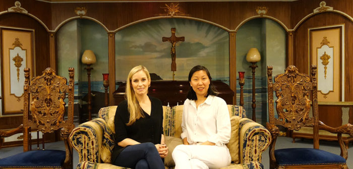 Nicola Quinn and Jingjing Tian