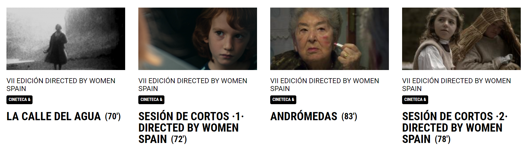 Directed by Women Spain Madrid